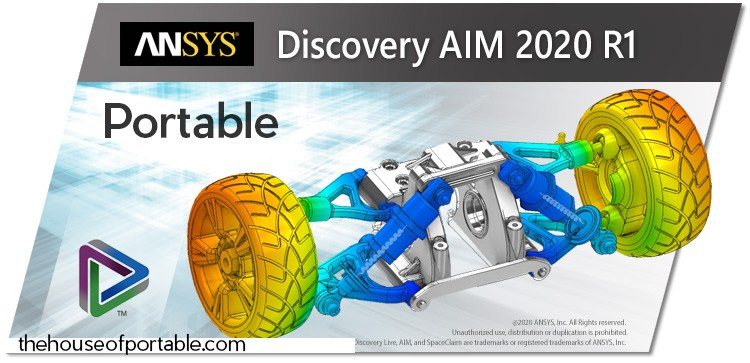 ansys discovery aim spaceclaim 2020 r1 portable