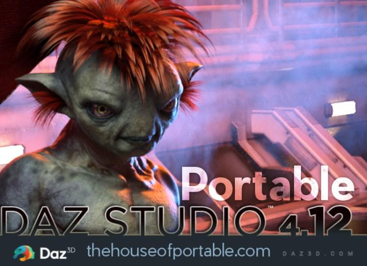 daz studio 4.12 portable