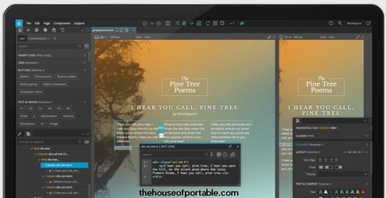 pinegrow web editor portable