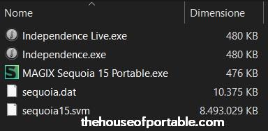 magix sequoia 15 portable files