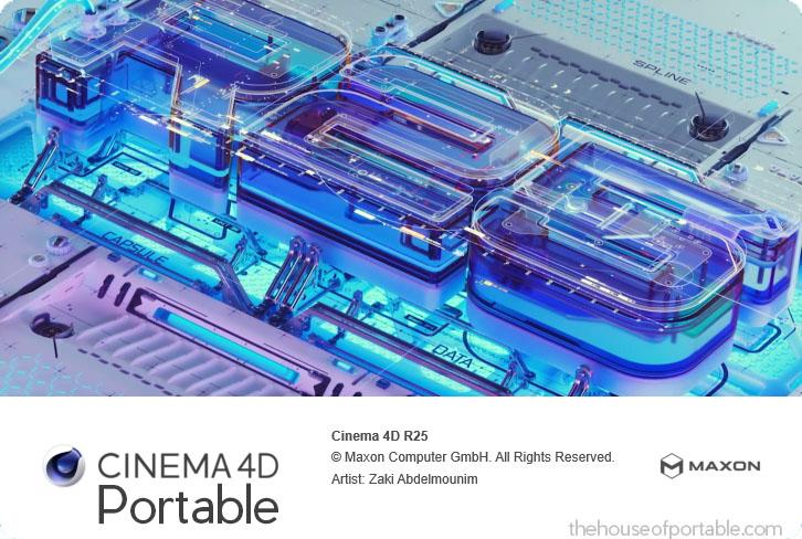 cinema 4d r25 portable