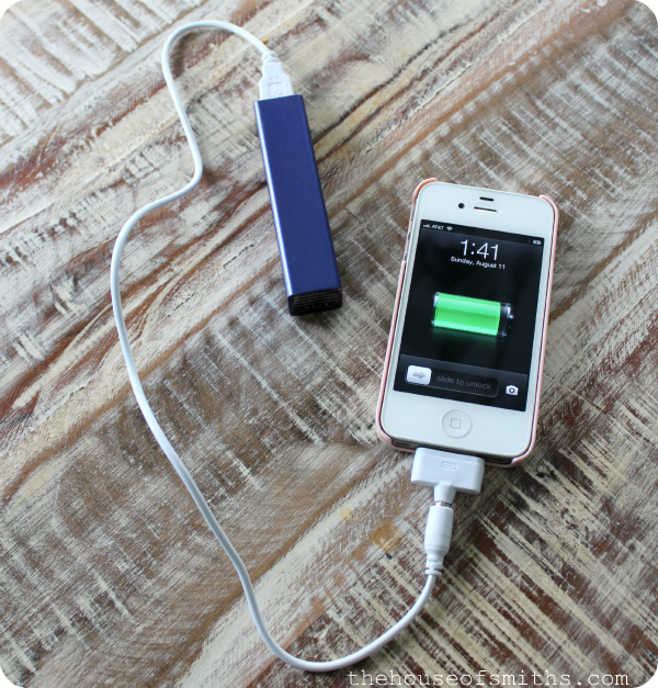 External Battery Charger for iPhone