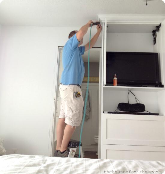 Master Bedroom TV Cabinet - thehouseofsmiths.com