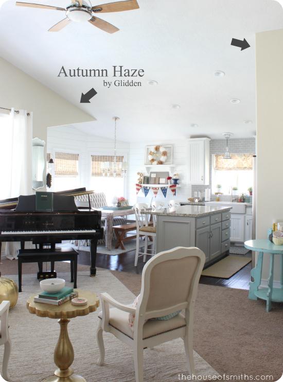 Autumn Haze Paint by Glidden - thehouseofsmiths.com