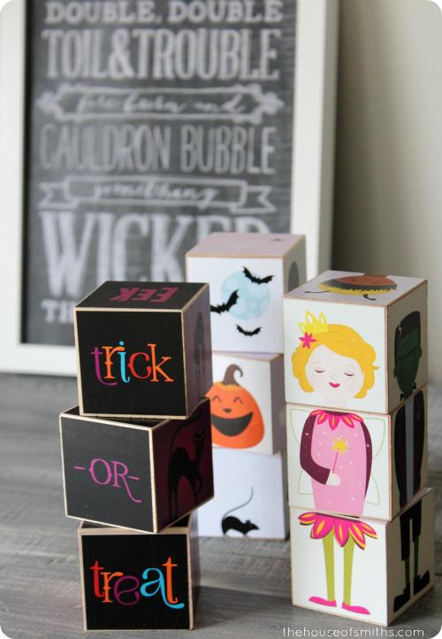Caravan Shoppe Halloween blocks - thehouseofsmiths.com