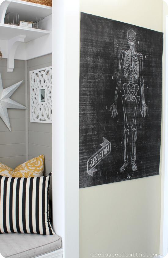 Large Chalkboard Printables for Halloween - Caravan Shoppe - thehouseofsmiths.com