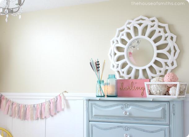 Modern, Classy girly bedroom design - thehouseofsmiths.com