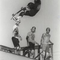 97: Sergie Ventura Lein Air Ocean City Maryland Dan Tag Fred Smith and Josh Marlowe on deck:Summer 1987