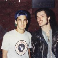107: Not much to do with vert skating but Hey when you got a picture of yourself and King Diamond with no make up on then you gotta post it: Jason Oliva with King Diamond 1988 Washington D.C.