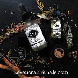 keven, craft, rituals, witch shop, kevencrafyrituals, witchy, skincare, luxury