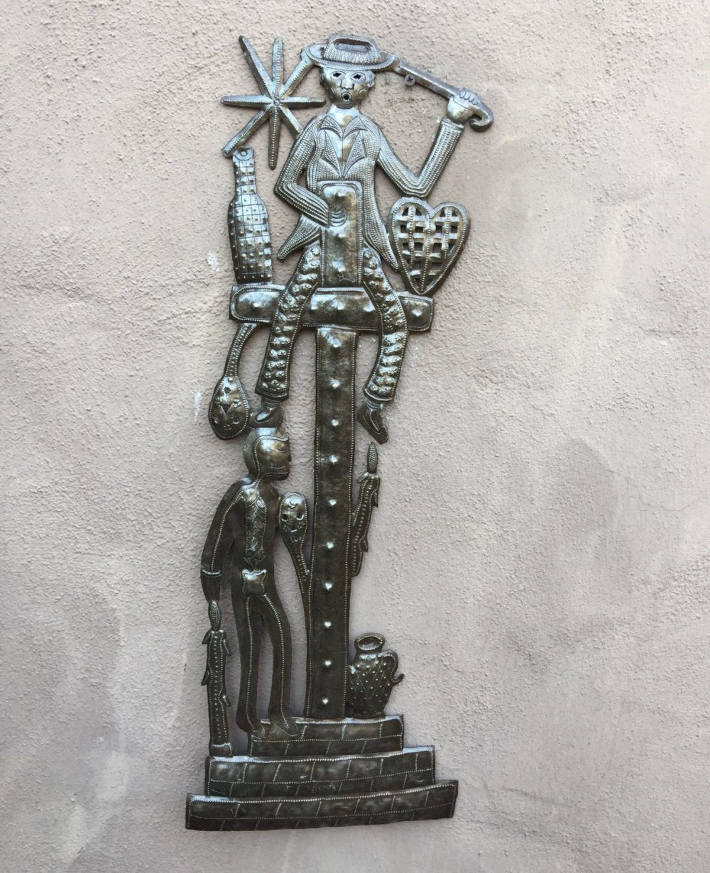 Gede on the cross Haitian The House of Twigs Ziona Moses Vodou