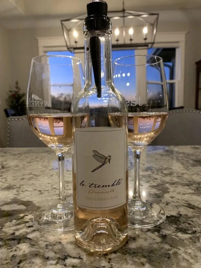 Rose Wine in Costco's Wine Advent Calendar