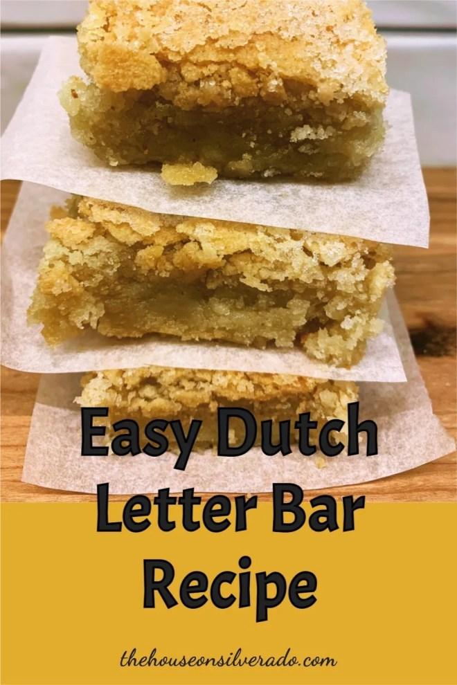 Pin Dutch Letter Bars