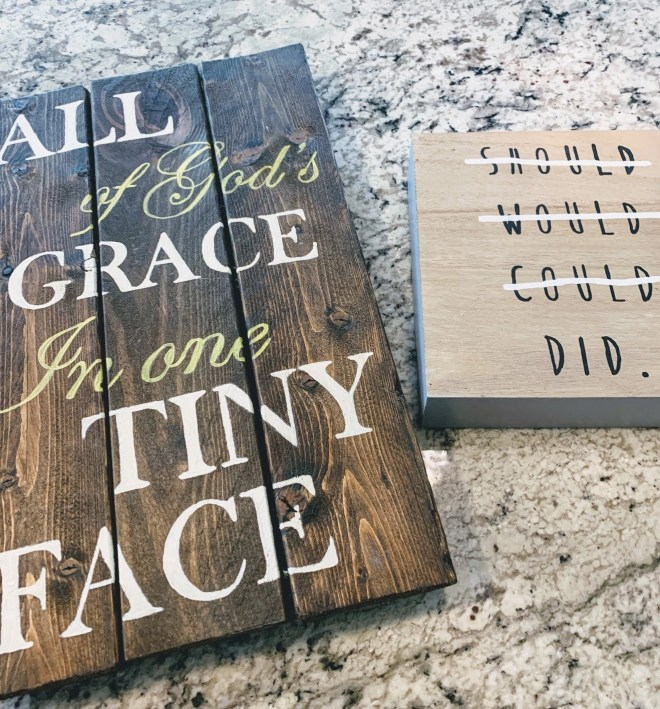 Thrift store signs for my DIY Thrift Store Farmhouse Sign Makeover