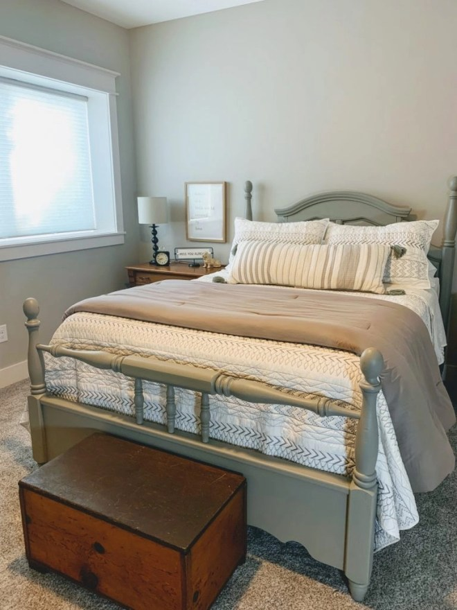 Guest Bedroom Makeover Using Family Keepsakes