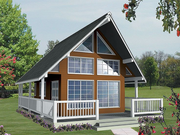 Vacation Cottage Home Plan Design