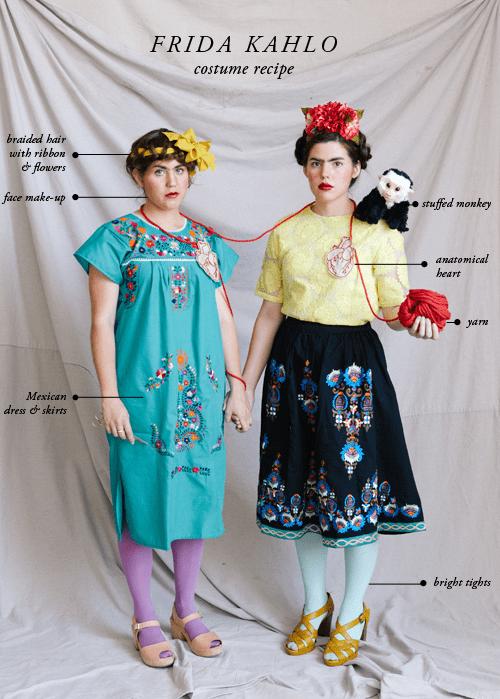 Frida Kahlo costumes -...