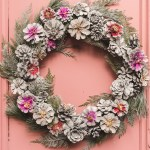 Painted Pinecone Wreath The House That Lars Built