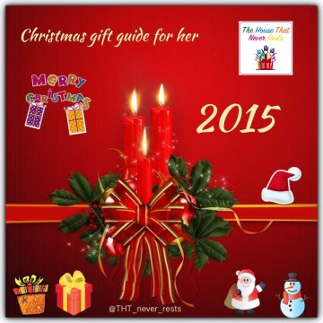Christmas gift guide for her 2015