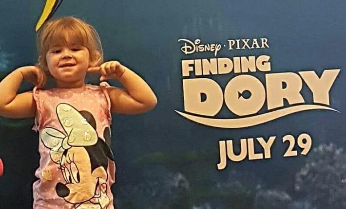 A girly day in London - Finding Dory