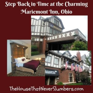 Step back in time at the charming Mariemont Inn of Mariemont, Ohio. Though this quaint historic inn is only about fifteen minutes from Downtown Cincinnati, geographically speaking, it's delightful, old country elegance is a world away from the hustle and bustle of the inner city.