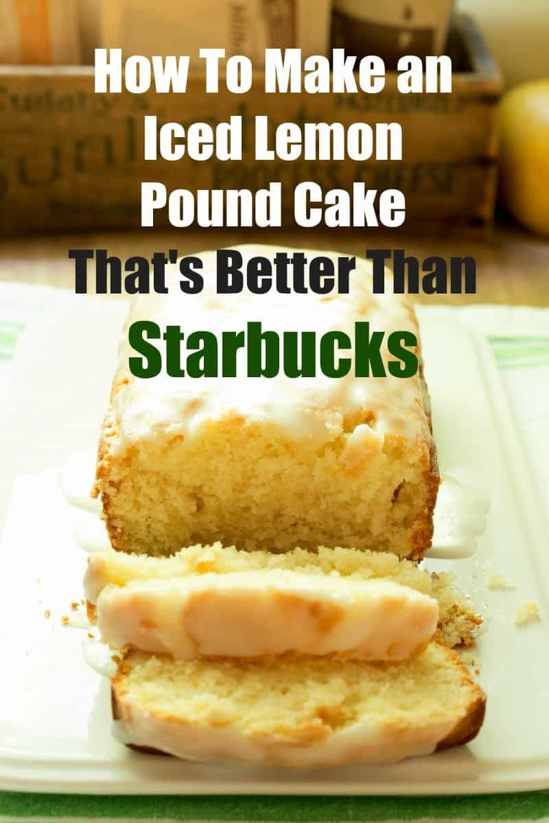 Easter Pound Cake Recipes