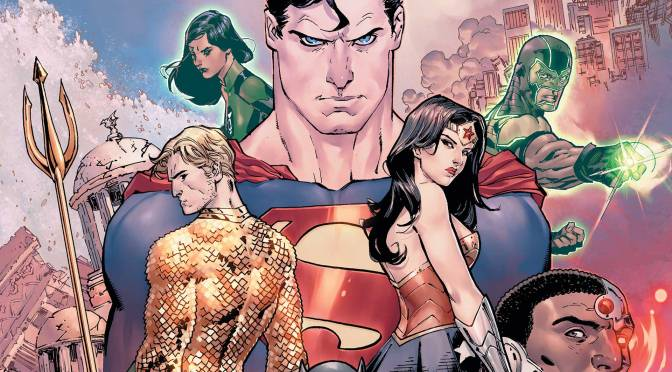 iReview: DC Comic's JUSTICE LEAGUE #3