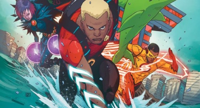 "iReview :: DC Comics Rebirth continues with TEEN TITANS #6 ""The Rise of Aqualad"""