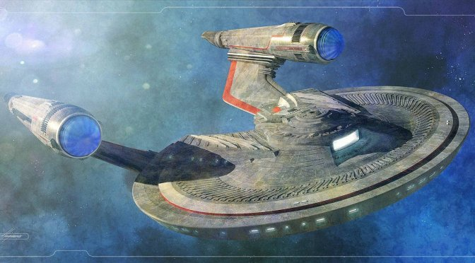Unboxing :: USS FRANKLIN from Eaglemoss Star Trek Starships Collection