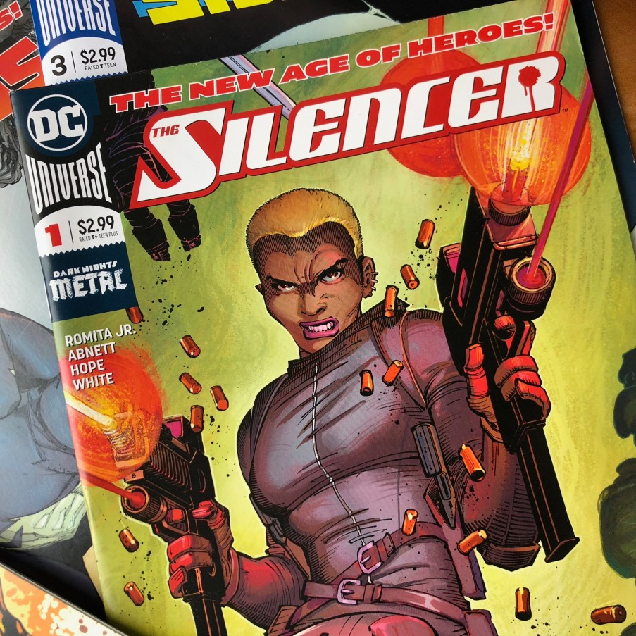 The legendary John Romita, Jr. introduces SILENCER.