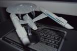 USS Enterprise Aft View