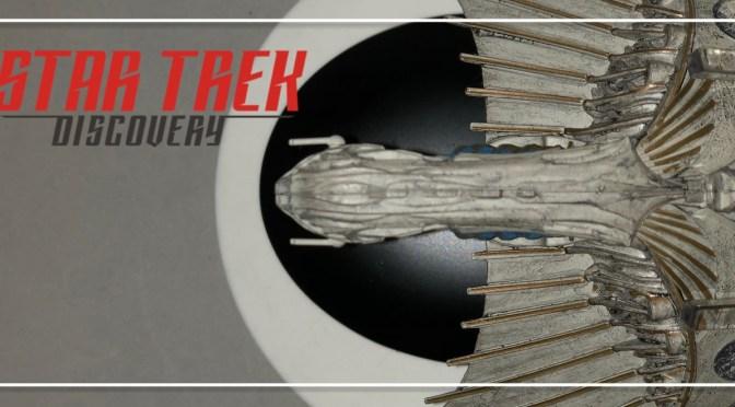 UnBoxing   Star Trek Discovery KLINGON BIRD-OF-PREY
