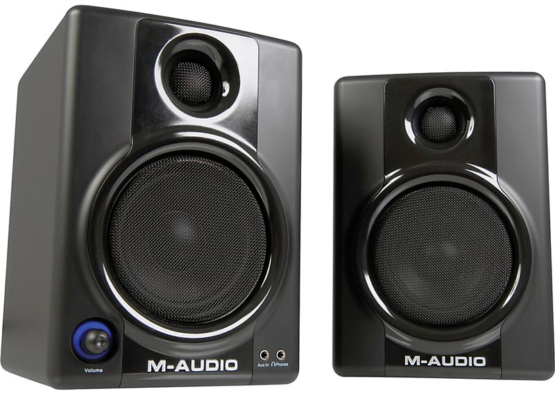 M-Audio AV 40 monitors