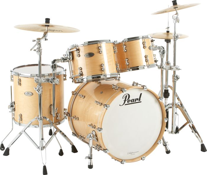 Buying Guide  How to Choose the Right Pearl Drums   The HUB Pearl Reference Pure Standard Natural Drum Set