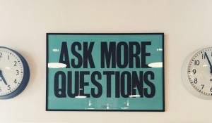 ask questions - the first of six proven steps to grow your business online