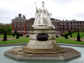 Queen Victoria Statue at Kensington Palace
