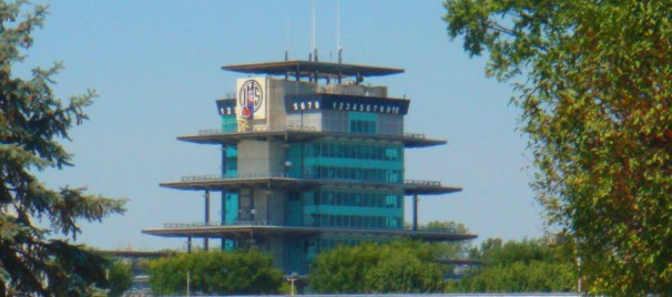 The Panasonic Pagoda is one of the most recognizable structures at the Indianapolis Motor Speedway and in worldwide motorsports.