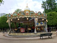 paris france tuileries carousel