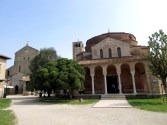 The church of Torcello in Italy