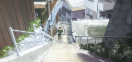 Makoto getting to the home of Haru-Free! Eternal Summer Episode 1
