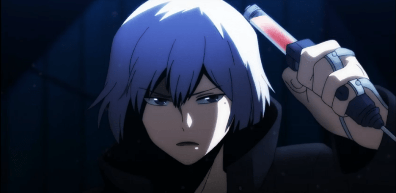Art holding a syrings-Re Hamatora Episode 3