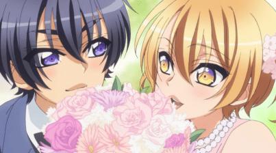 Izumi and Ryouma as kids-Love Stage!! Episode 1