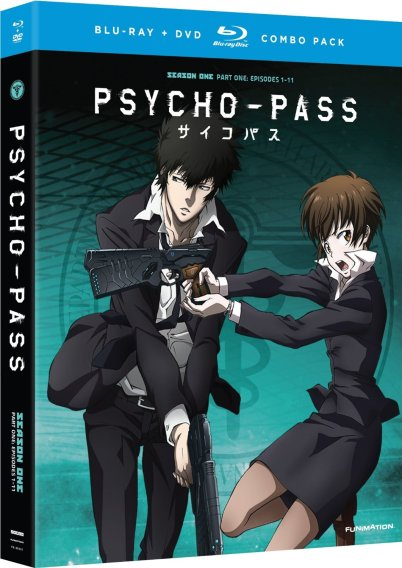 Psycho-Pass Part 1 Standard Edition-FUNimation Entertainment Anime Release