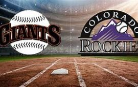 COLORADO ROCKIES vs. SAN FRANCISCO GIANTS GAME POSTPONED