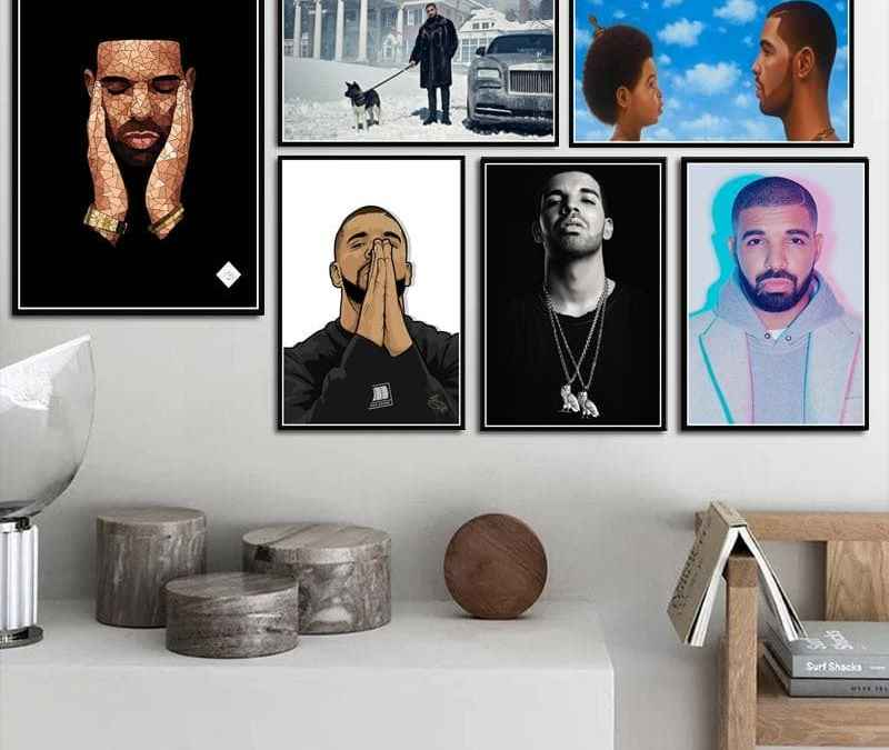 Drake Superb Collection Oil on Canvas