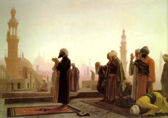 Prayer painting Jean Leon 1280