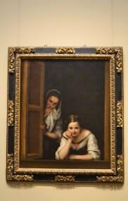 Two Women at a Window - Bartolome Esteban Murillo