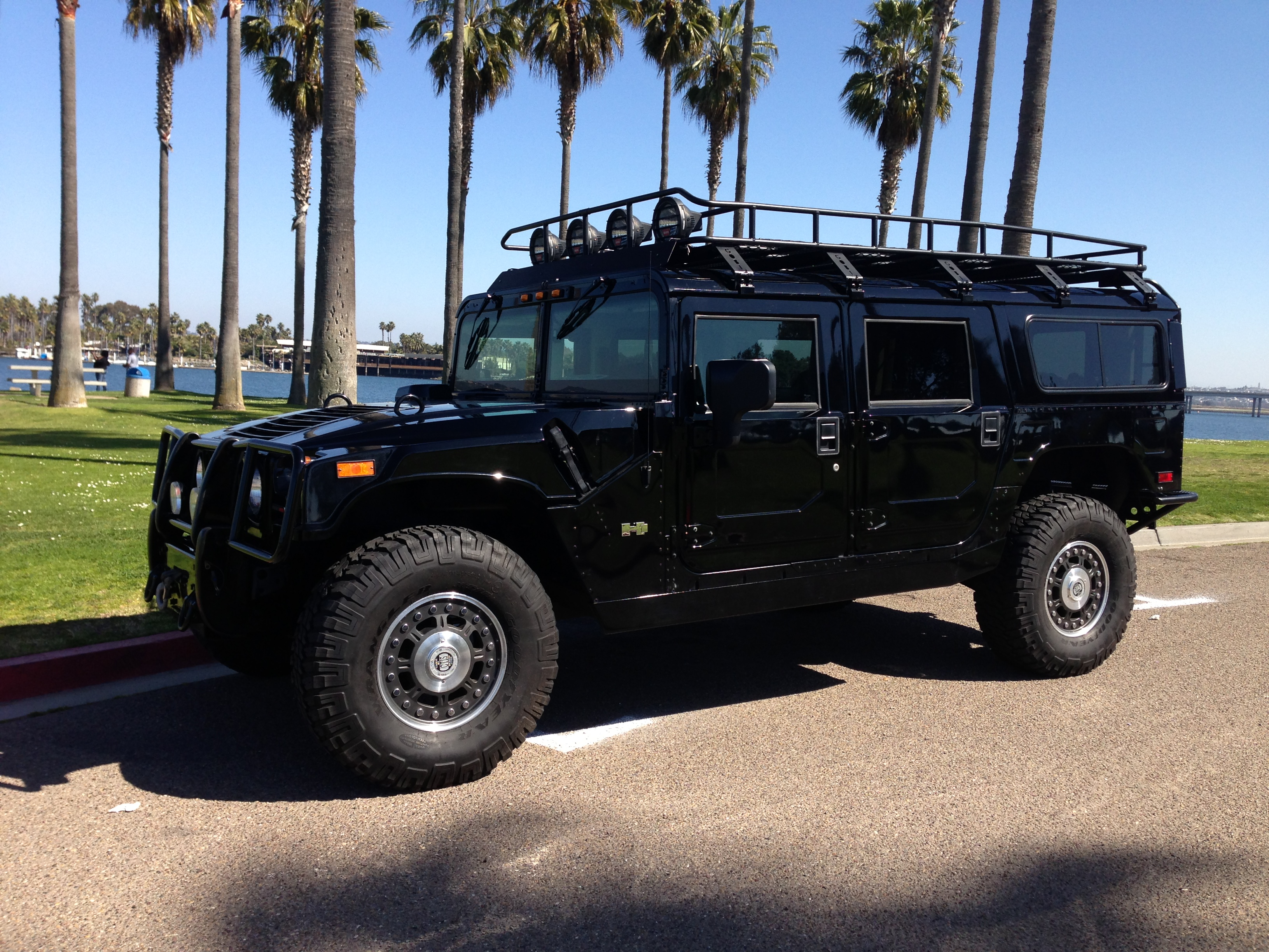 2006 hummer h1 alpha wagon 2nd generation all black with all black