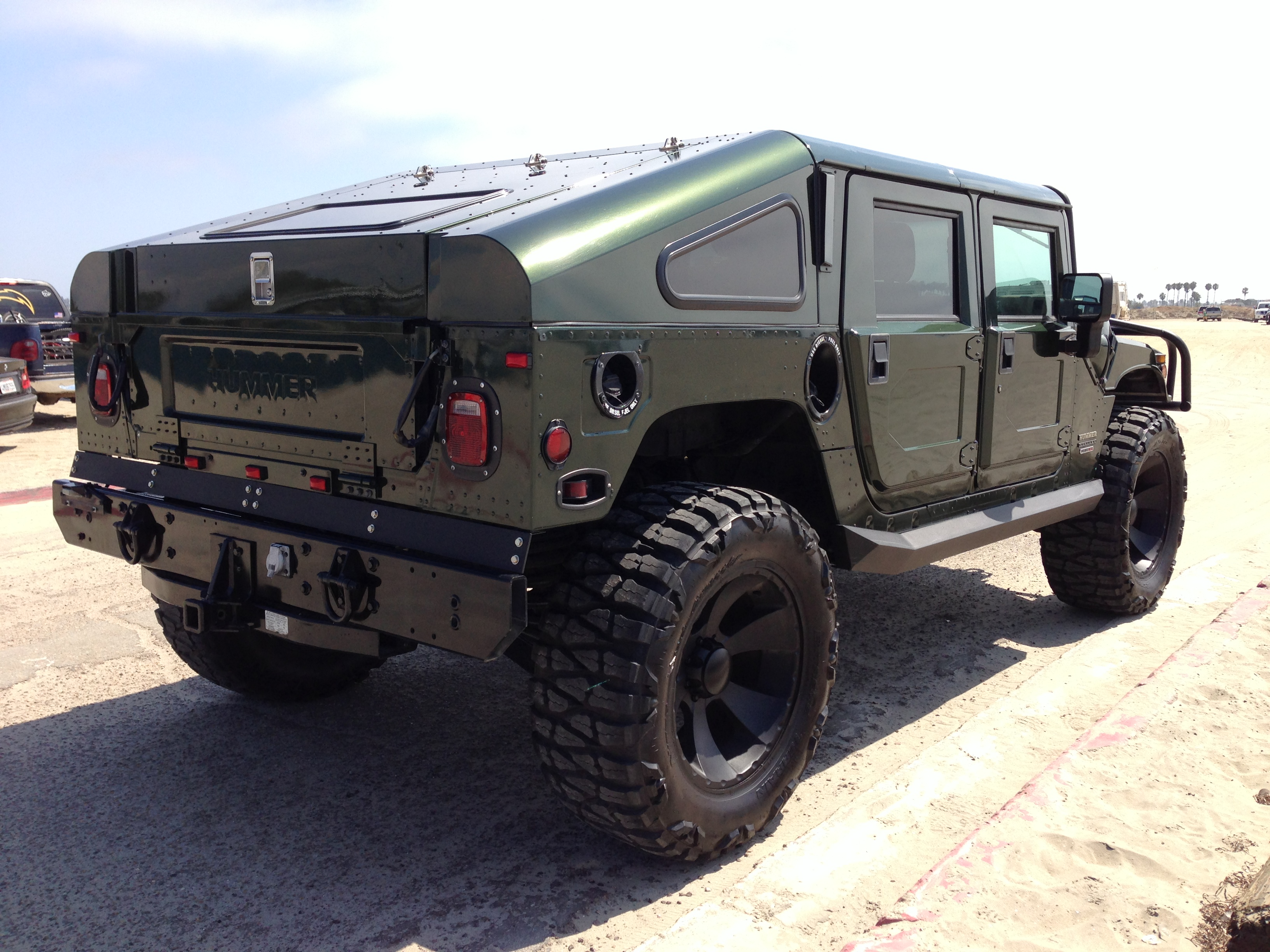 rare 1 of 1 2001 hummer h1hmc4 slant back duramax turbo sel