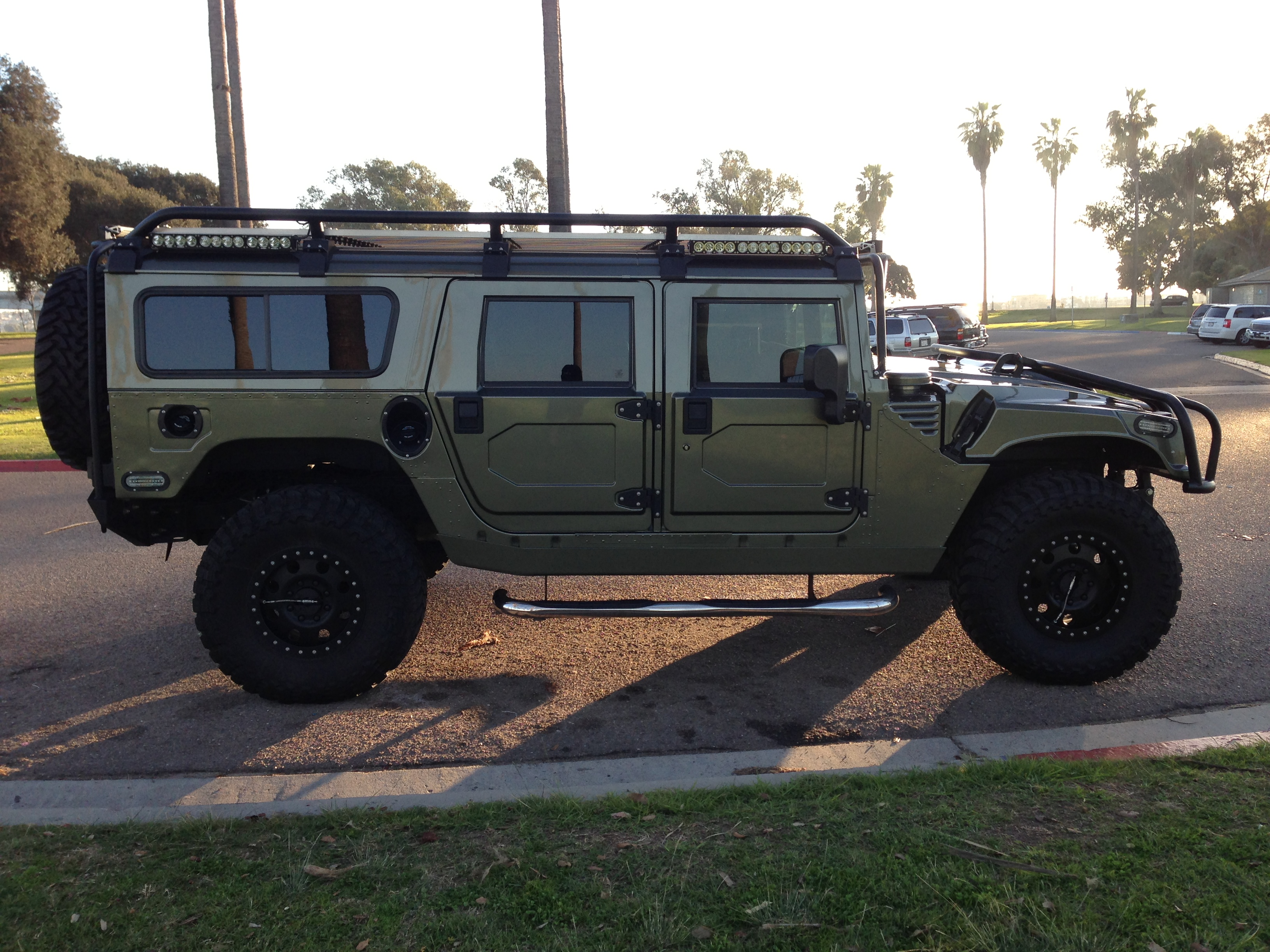 For Sale—hummer h1 cummins search and rescue elite series 6